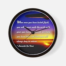 Funny Aviation Wall Clock