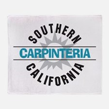 Carpinteria California Throw Blanket
