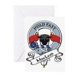 MacLeod Clan Badge Greeting Cards (Pk of 10)