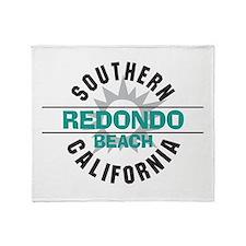Redondo Beach Throw Blanket