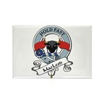 MacLeod Clan Badge Rectangle Magnet (10 pack)