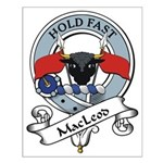 MacLeod Clan Badge Small Poster