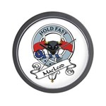 MacLeod Clan Badge Wall Clock