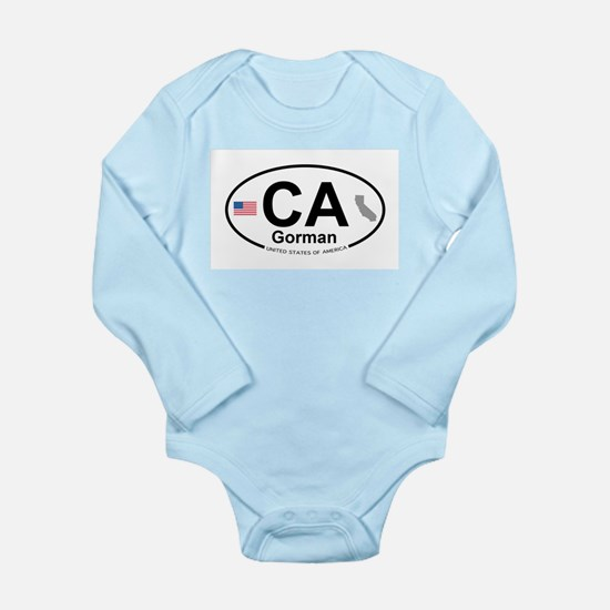 Gorman Long Sleeve Infant Bodysuit