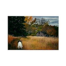 Rectangle Magnet - The Road Home - Wayne Benedet