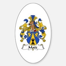 Matz Sticker (Oval)