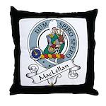 MacLellan Clan Badge Throw Pillow