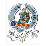 MacLellan Clan Badge Small Poster