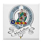 MacLellan Clan Badge Tile Coaster