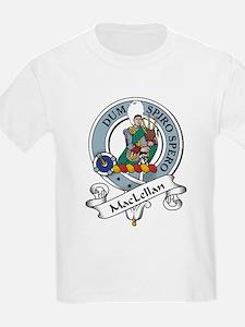 MacLellan Clan Badge Kids T-Shirt