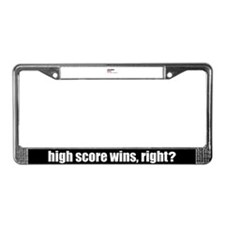 A Day without Golf License Plate Frame