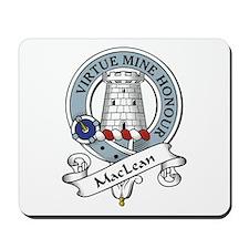 MacLean Clan Badge Mousepad