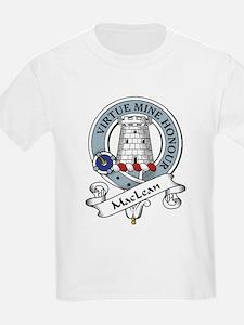 MacLean Clan Badge Kids T-Shirt