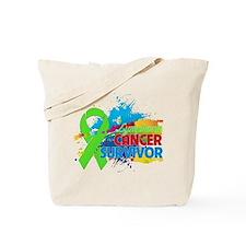 Colorful - Lymphoma Survivor Tote Bag