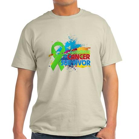 Colorful - Lymphoma Survivor Light T-Shirt