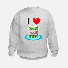 I Love Pickles Sweatshirt