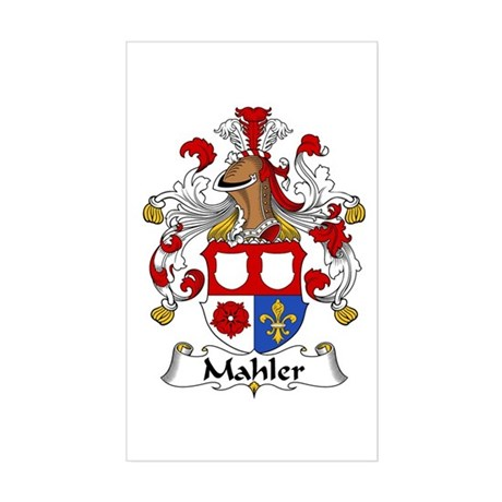 Mahler Sticker (Rectangle)
