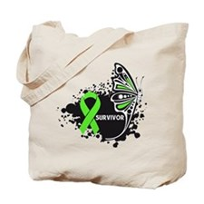 Butterfly Tattoo Lymphoma Tote Bag