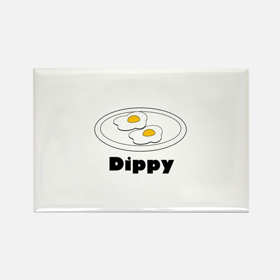 Dippy Rectangle Magnet