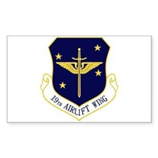 19th Airlift Wing Decal