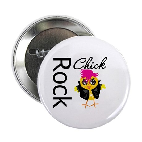 "Rock Chick 2.25"" Button (100 pack)"