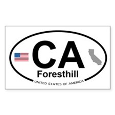 Foresthill Decal