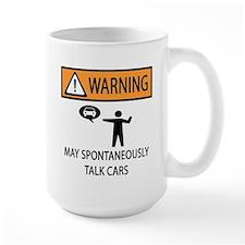 Car Talk Warning Mug