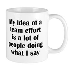 Team Effort Mug