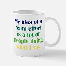 Team Effort Mug