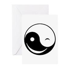 Winky Yin Yang Greeting Cards (Pk of 10)