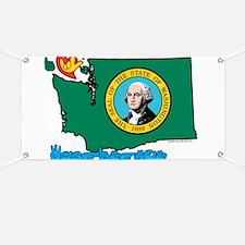ILY Washington Banner