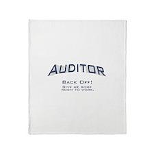 Auditor - Work Throw Blanket
