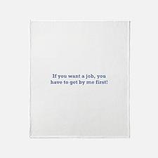 Job / First Throw Blanket