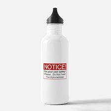 Notice / Optometrists Water Bottle