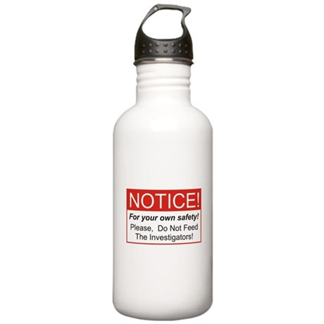 Notice / Investigators Stainless Water Bottle 1.0L