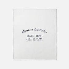 Quality Control / Work Throw Blanket