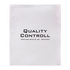 Q Controll Throw Blanket