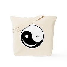 Winky Yin Yang Tote Bag