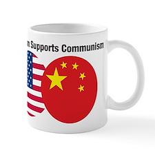 Capitalism Supports Communism Mug