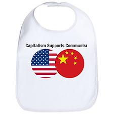 Capitalism Supports Communism Bib