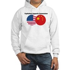 Capitalism Supports Communism Hoodie