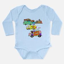 Feeling Groovy Long Sleeve Infant Bodysuit