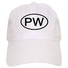 Palau - PW - US Oval Baseball Cap