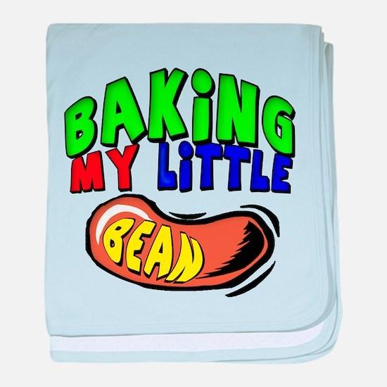 Baking My Bean baby blanket