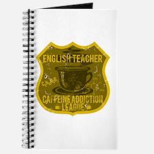English Teacher Caffeine Addiction Journal