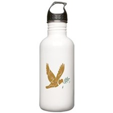 Golden Peace Water Bottle