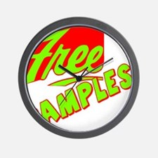 Free Samples Wall Clock