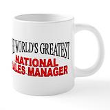 Occupations national sales manager Mega Mugs (20 Oz)