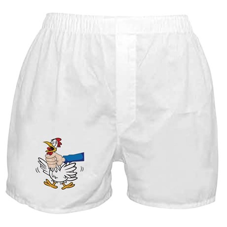 Choke The Chicken Boxer Shorts