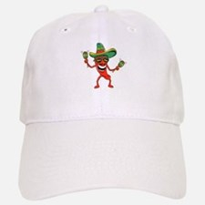 Hot Mexican Pepper Baseball Baseball Cap